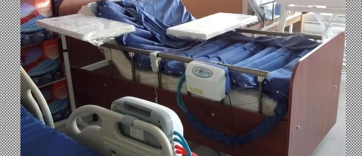 Hasta Yatağı Kurulumu