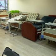 Elektrikli lazımlıklı hasta yatakları