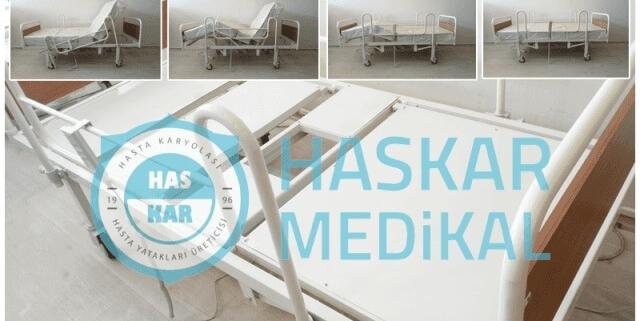 Tuvaletli Hasta Yatakları