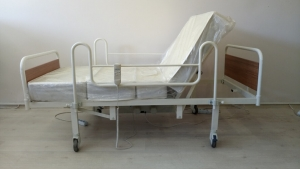 Tuvaletli Hasta Yatağı
