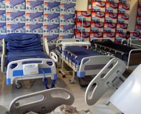 Hızlı iyileşme sağlayan hasta yatakları