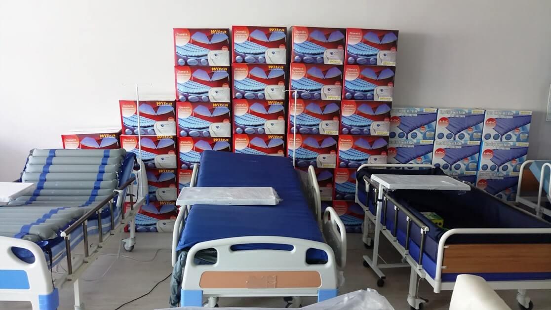 Kaliteli ve ekonomik hasta yatakları