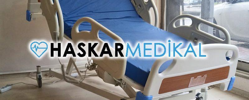 Motorlu hasta yatağı tasarımı
