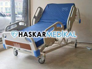 Güvenliği Sağlanmış Hasta Yatağı