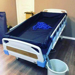 Hastayı Yıkamak İçin Yatak