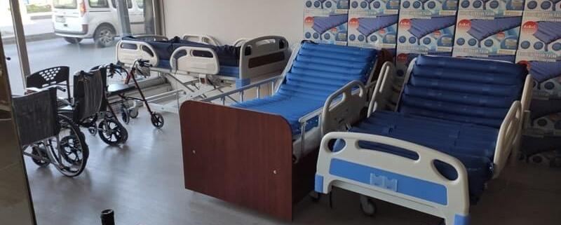 Yüksek standartlara sahip hasta yatakları