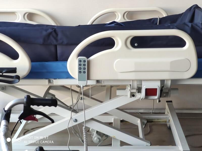 Konforlu bir hasta yatağı modeli