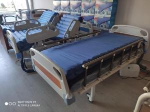 Üretimi tamamlanmış hasta yatakları