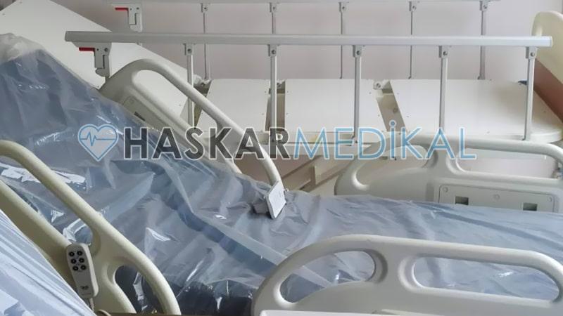 Bakım işini kolaylaştıran hasta yatakları