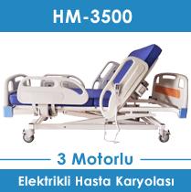 3 motorlu hasta yatağı hm-3000