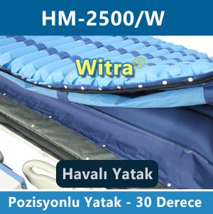 Pozisyon veren havalı hasta yatağı