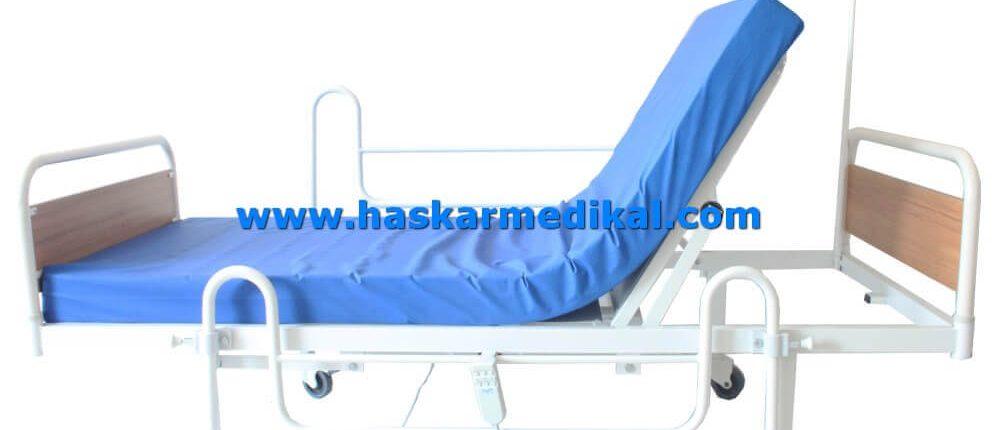 2 motorlu ekonomik hasta yatağı HM-151
