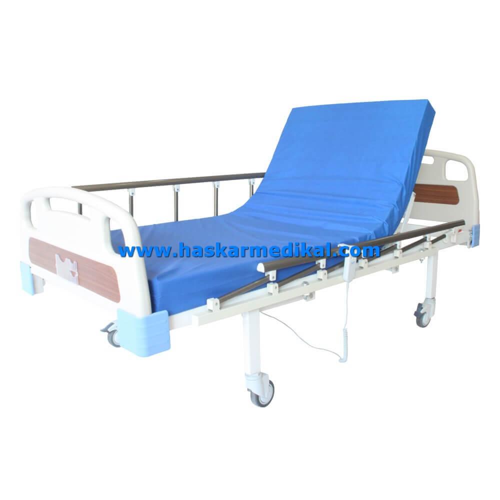 2 motorlu abs hasta yatağı HM-152