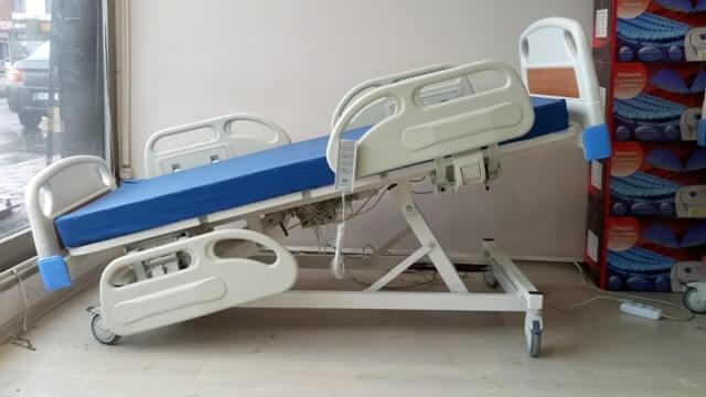 4 motorlu hasta yatağı