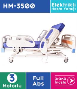 3 Motorlu Hasta Yatağı Full Abs