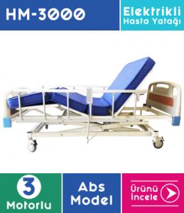 Hasta Yatağı 3 Motorlu