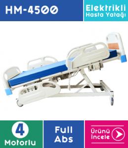 Hasta Yatağı 4 Motorlu