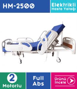 Hasta Yatağı Full Abs 2 Motorlu