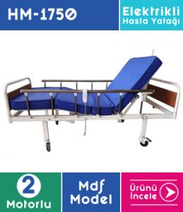 Mdf Hasta Yatağı 2 Motorlu