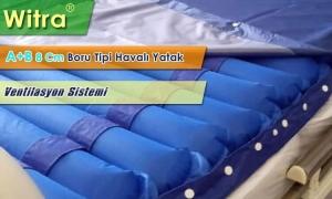 Witra A+B Sistem Ventilasyonlu boru Tipi Havalı Yatak 8 Cm
