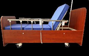 Hasta Yatağı Ahşap 2 Motorlu HM-2300K