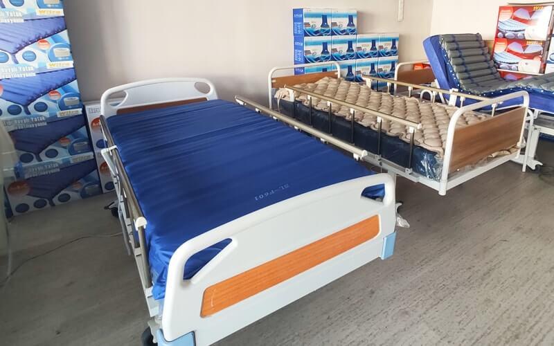 Ortopedik yatak hasta karyolası tasarımları