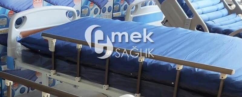 Son teknoloji ürünü hasta yatakları