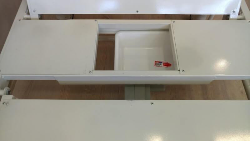 Tuvaletli Hasta Yatağı Lazımlık Bölmesi