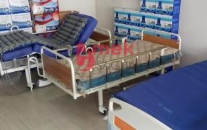 90 cm - 190 cm ölçülerinde hasta yatakları