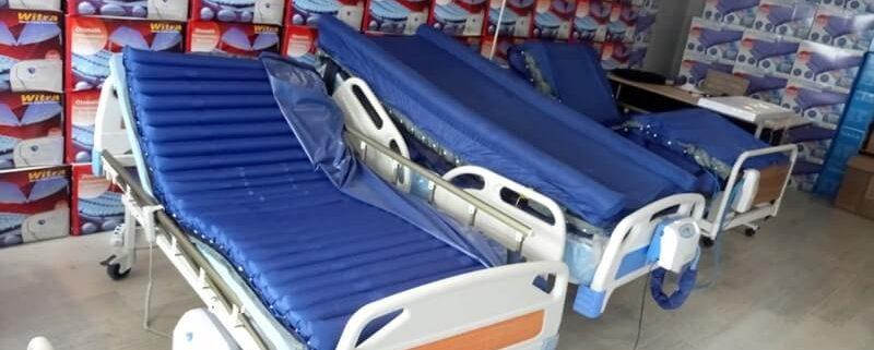 Ev ve hastane tipi hasta yatakları