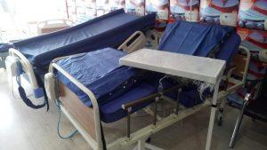 Tamir edilmiş hasta yatakları