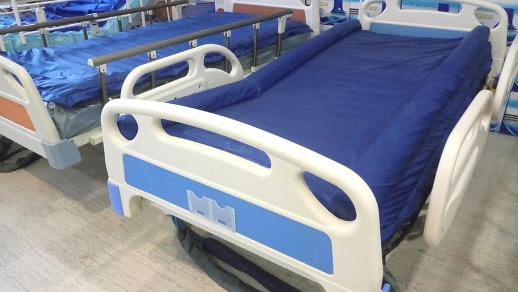 Boru tipi ve pozisyonlu hasta yatakları