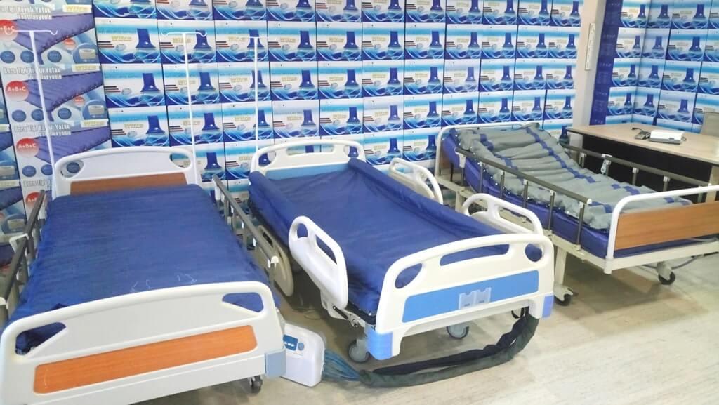 Yeni nesil havalı hasta yatakları