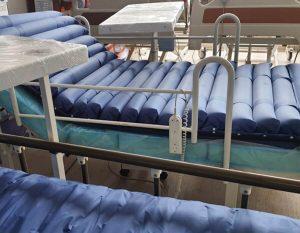 Boru tipi havalı hasta yatağı