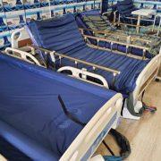 Tedaviyi destekleyen hasta yatakları