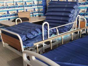 Havalı hasta yatakları
