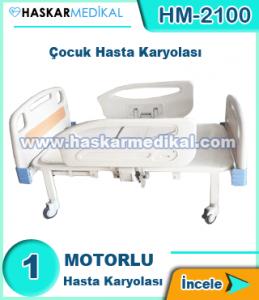 1 Motorlu Çocuk Hasta Yatağı HM-2100
