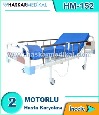 2 Hareketli Hasta Yatağı HM-152
