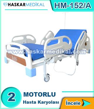 2 Hareketli Hasta Yatağı HM-152/A