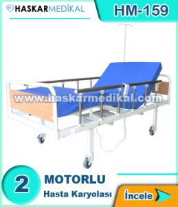 2 Hareketli Hasta Yatağı HM-159