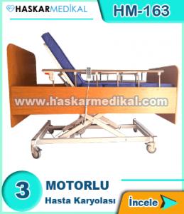 3 Motorlu Hasta Yatağı HM-163