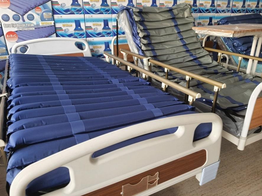 Havalı yatak ve hasta karyolası